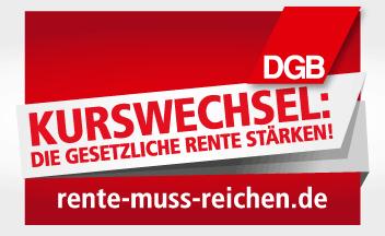 DGB-Rentenkampagne