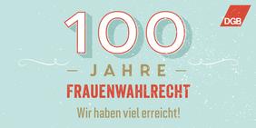 Logo 100 Jahre Frauenwahlrecht