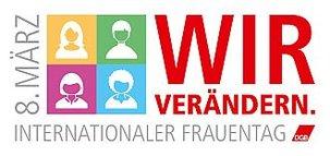 Logo Intern. Frauentag 2017