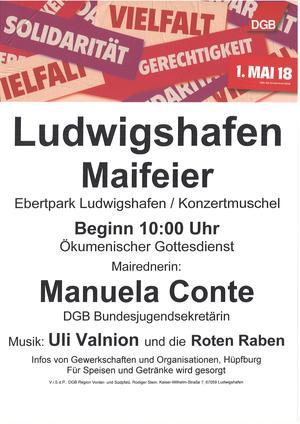 1. Mai 2018 Ludwigshafen