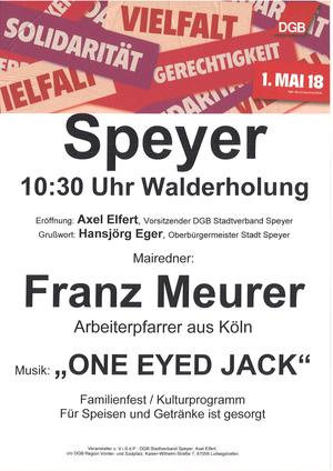 1. Mai 2018 Speyer