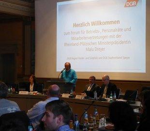 Veranstaltung mit der rheinland-pfälzischen Ministerpräsidentin Malu Dreyer am 02.02.2017 in Speyer