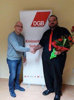 neu gewählter Vorsitzender DGB KV Südpfalz Özcan Acar