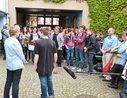 """DGB Planspiel """"Ready-Steady-Go"""" und die DGB-Reichtumsuhr in Haßloch"""